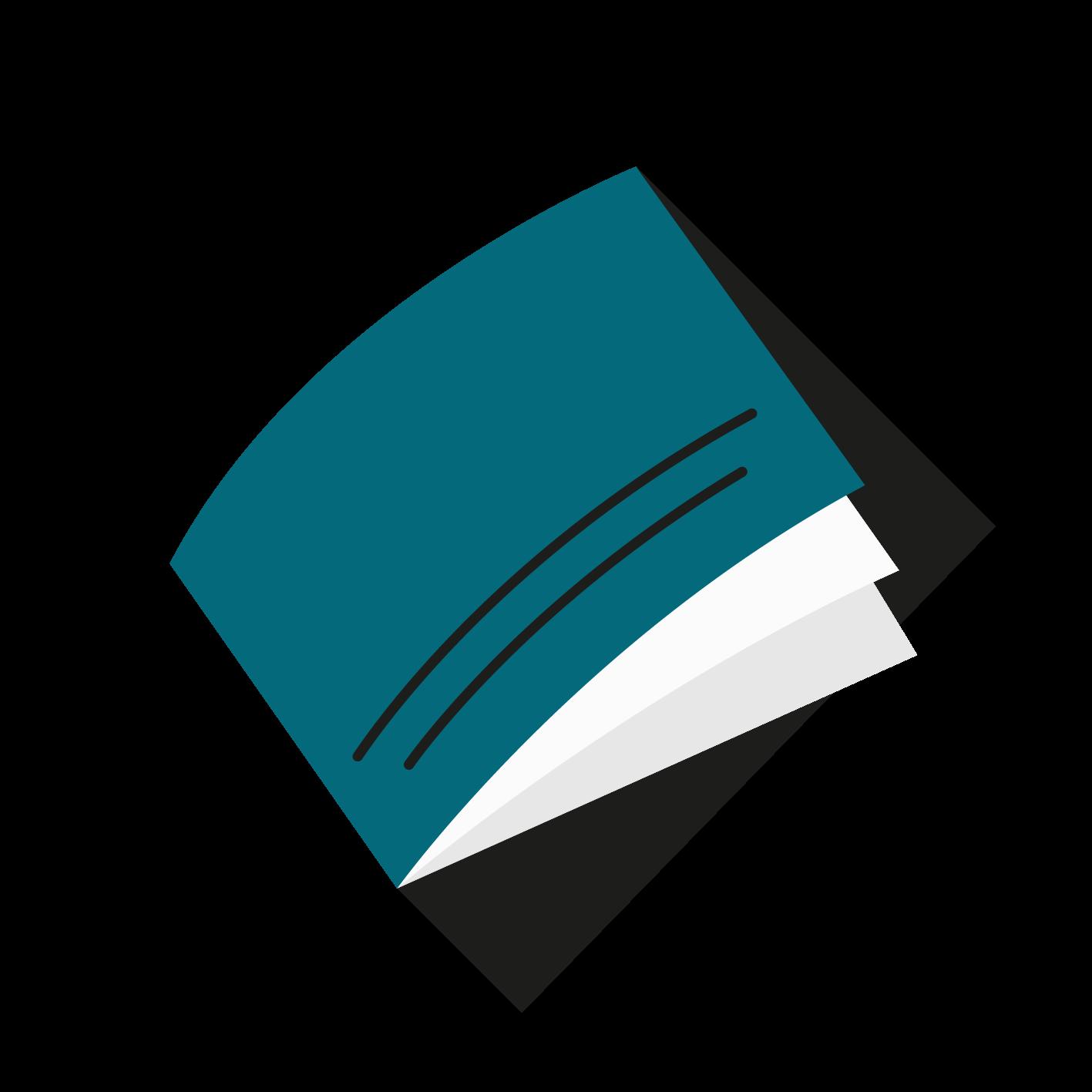 A5 tværformat Hæfte