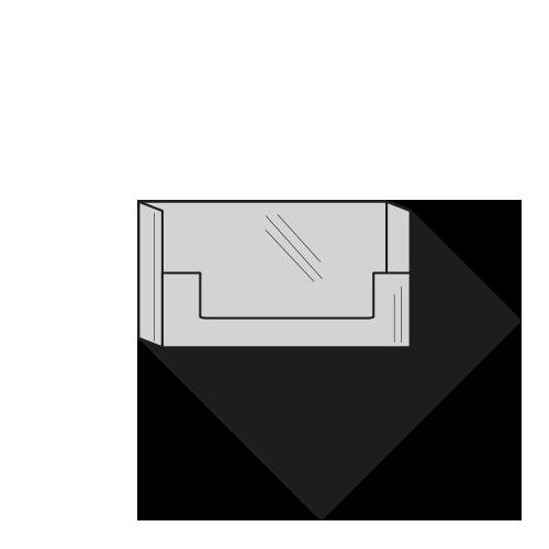 Visitkort- eller aftalekortholder