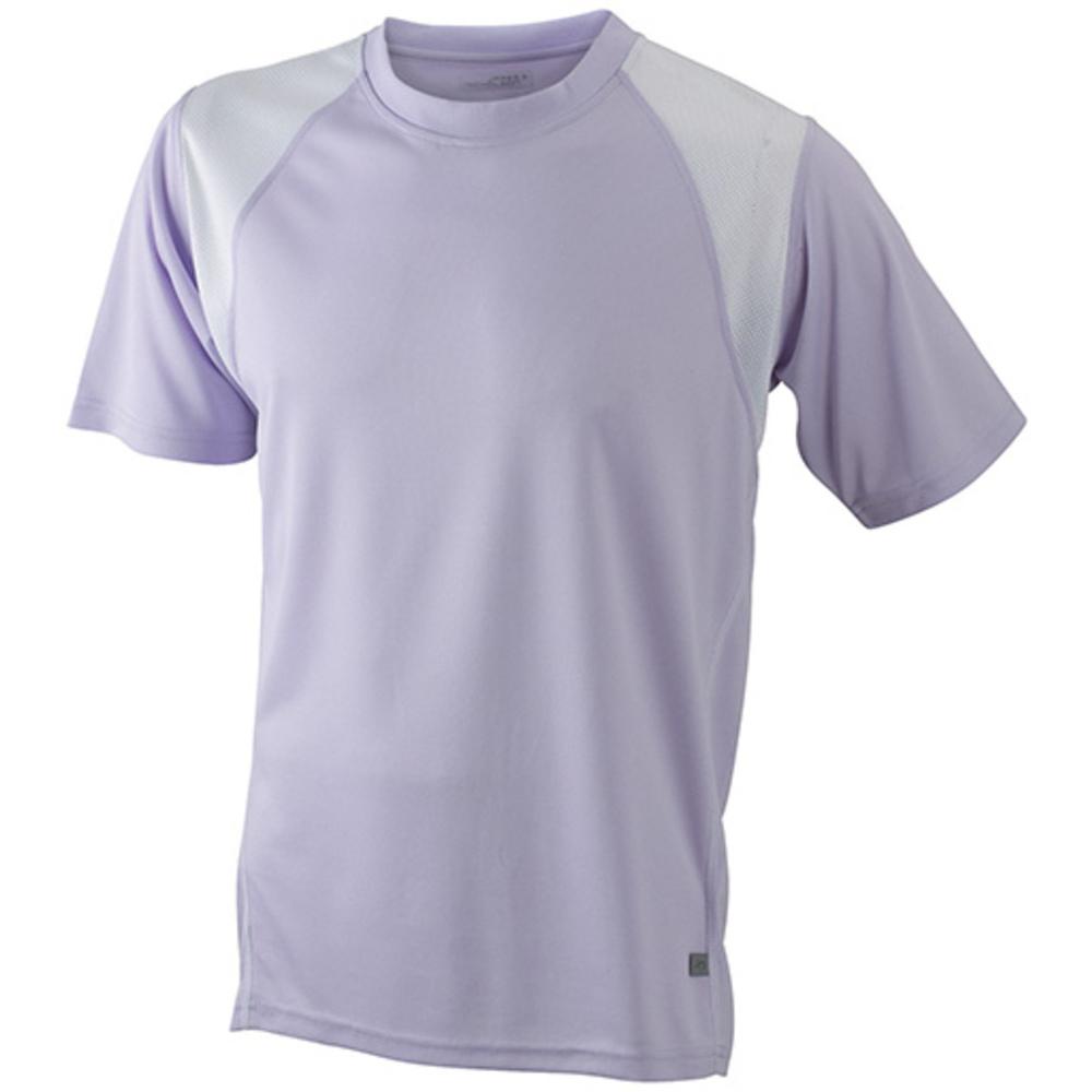 Lilac t-shirt svedtransporterende