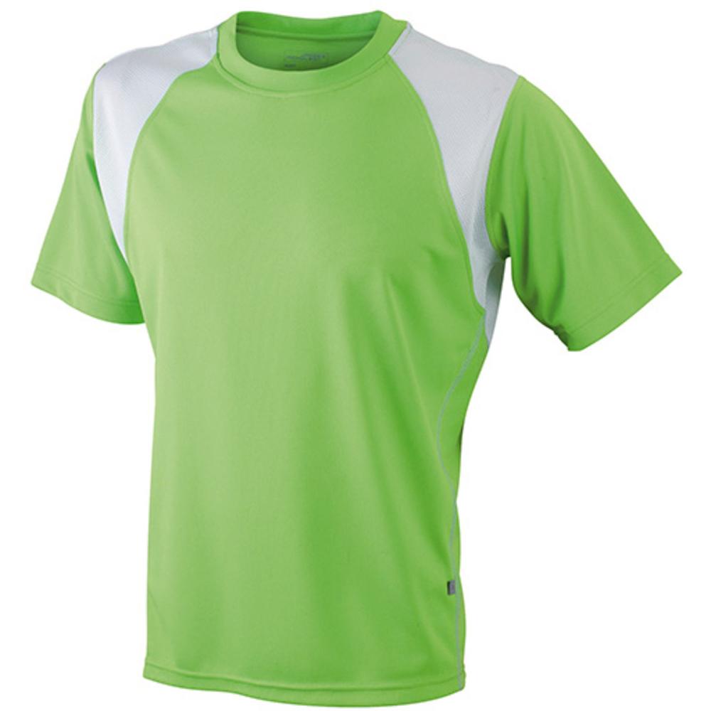 Limegreen t-shirt svedtransporterende