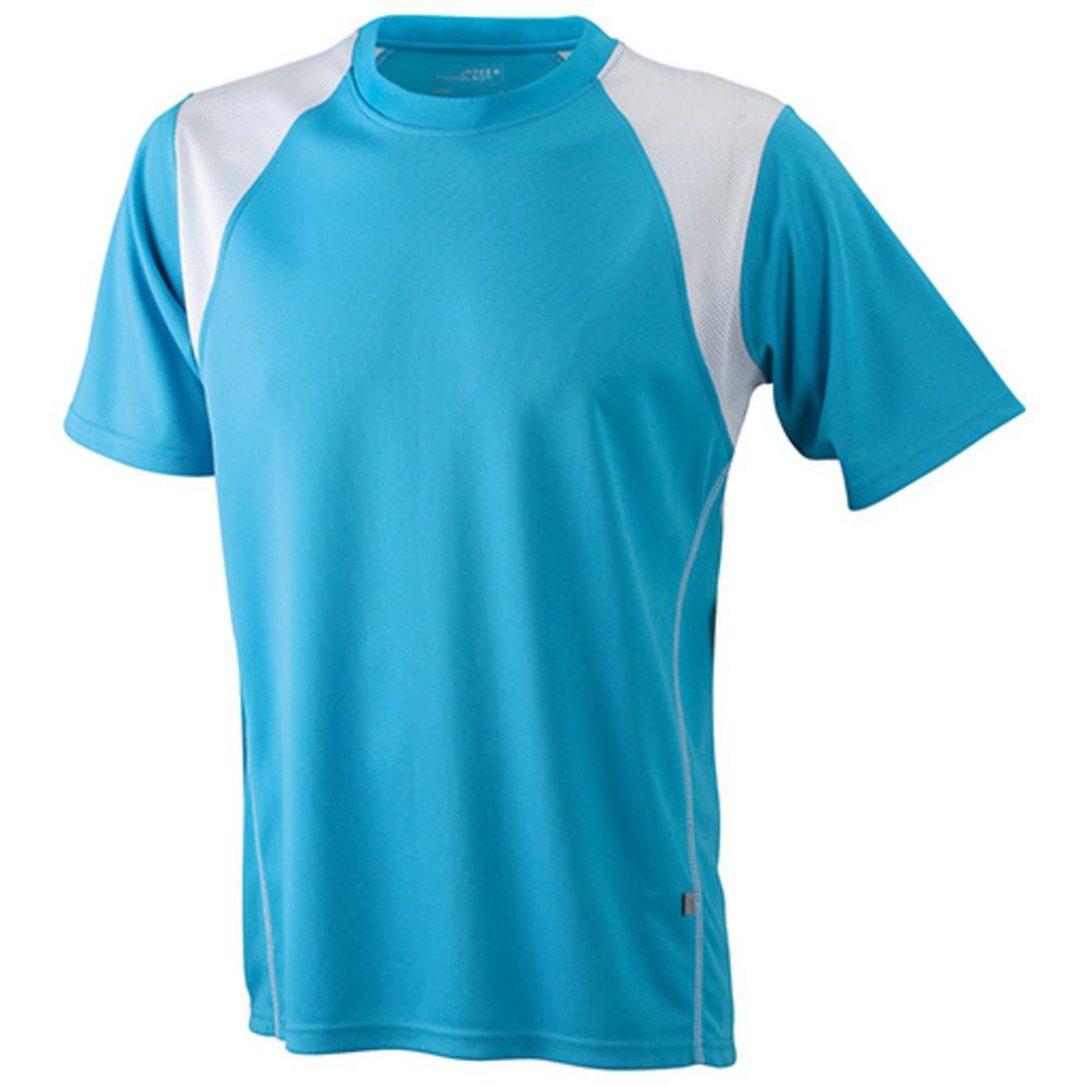 Turquoise t-shirt svedtransporterende